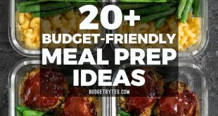 20+ Budget friendly meal prep ideas to keep your taste buds happy, your belly fu...