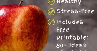 6 Tips for Packing School Lunches that are Stress-Free, Fast, and Healthy