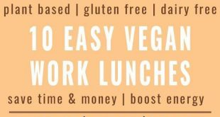 10 Best Easy Vegan Work Lunch Recipes 2019 Beat the rush to unhealthy lunch pl...