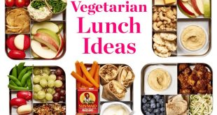 10 Easy Lunch Box Ideas for Vegetarians