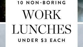 10 Non-Boring Work Lunches You Can Make for Less Than $3 a Serving