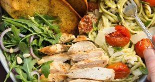 Chicken Avocado Pasta (Date Night Addition)