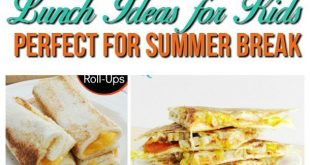 Fun and easy recipe lunch ideas for kids at home! Skip the sandwiches and have a...