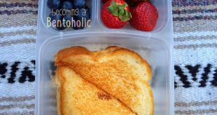 Grilled cheese packed for lunch!