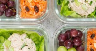 Healthy Canned Tuna Meal Prep Box