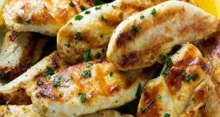 Lemon Garlic Marinated Chicken